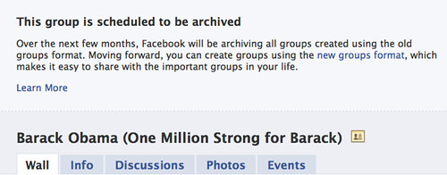 This group is scheduled to be archived