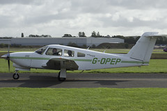 25/09/16 - Piper PA-28RT-201T (Turbo Cherokee Arrow IV) - G-OPEP (gbadger1) Tags: egbw wellesbourne mountford airfield matters 25 twenty five fifth 2 5 sunday september 2016 piper pa 28 rt 20 1 t turbo cherokee arrow iv gopep almat aviation