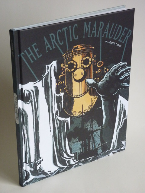 The Arctic Marauder by Jacques Tardi - front cover