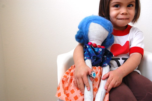 brave and her quirky doll