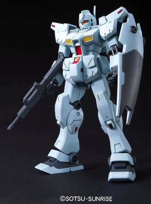 Bandai 1/144 High Grade HG RGM-79N GM Custom English Color Guide and Manual