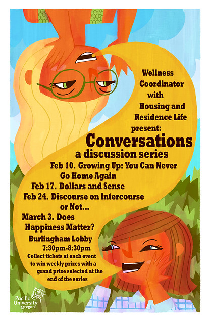 Poster for Conversation: A Discussion Series