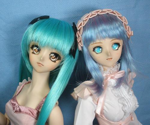 Saki and Shizuka