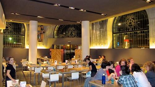 Ambiente del comedor - Atea Restaurante - Bilbao