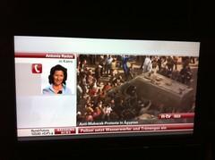 n-tv zu den Protesten in Ägypten