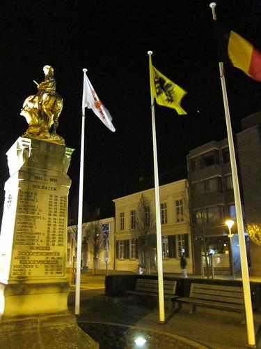 Tessenderlo, Belgium city square