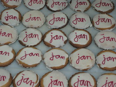 Jan's birthday cookies (betty.) Tags: