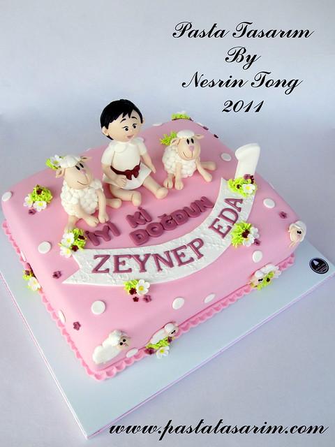 LAMBS CAKE - ZEYNEP EDA 1ST BIRTHDAY