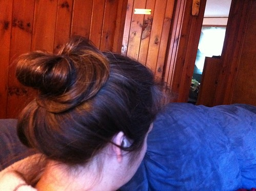 Writerly bun