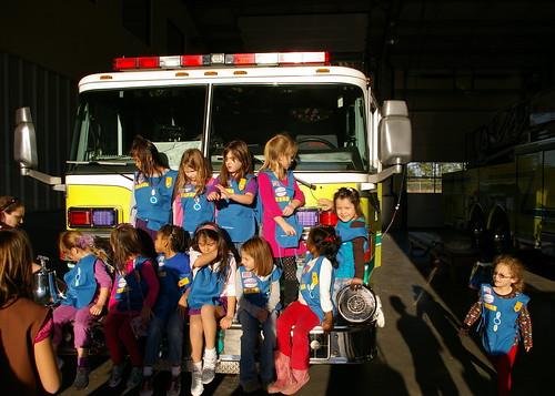 Fire Station Visit 6