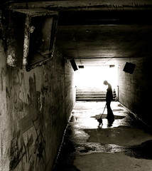 tunnel bosnie (laboratoire de l'hydre) Tags: street old city urban silhouette architecture chat industrial factory sale lumière decay sombre abandon pont exploration rue ville usine vie abandonned ancien rouille industriel poésie bosnie scène terrainvague friche entraille infinitexposure