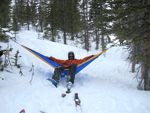 Best Ski/Snowboard Gear - A Trek Light Hammock!