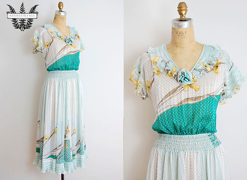 Diane Fres Vintage Dress
