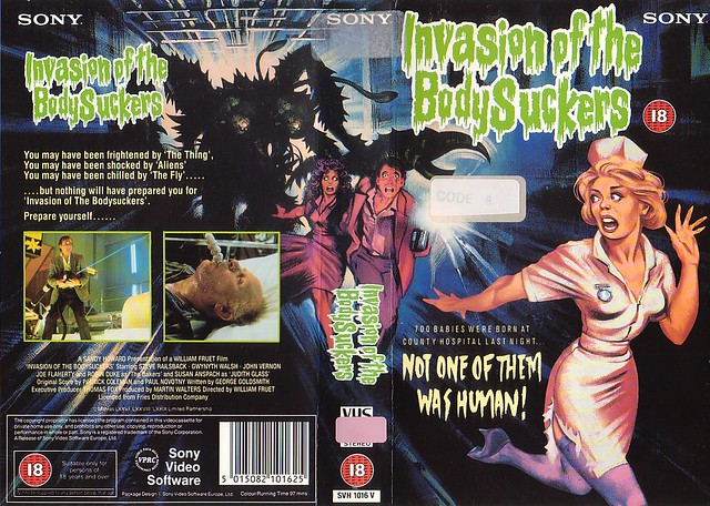 Invasion of the Bodysuckers (VHS Box Art)