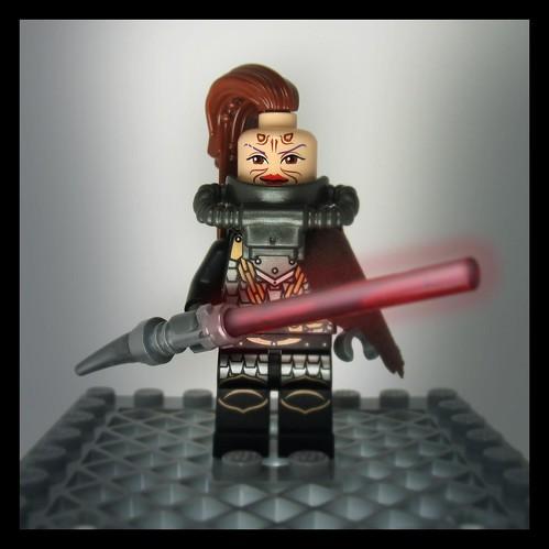 Custom minifig Sith Huntress custom minifig