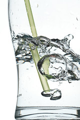 day 307 (Chris Tweed) Tags: water glass drink straw bubbles blow bubble