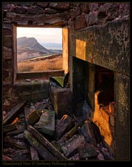 Abandoned View (Ant_H.) Tags: abandoned window barn sunrise landscape sony derelict hdr roaches theroaches a700 photoengine oloneo