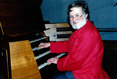 Roger Fisher - Organist (cathedralchoir) Tags: germany 1989 rogerfisher