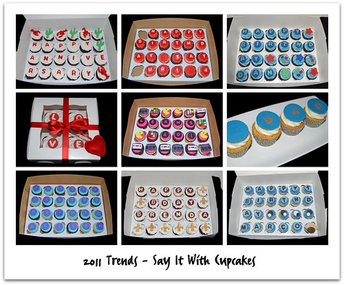 2011 Trends - Say It With Cupcakes