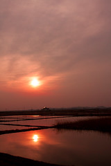 Sunset at Ukishima (globetrotting_pg) Tags: sunset japan ibaraki ukishima