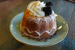 Mini Rum Cake from Sweet Pea Bakery (Herbert Harper) Tags: blue cake bozeman blackberry bakery sweetpea rum