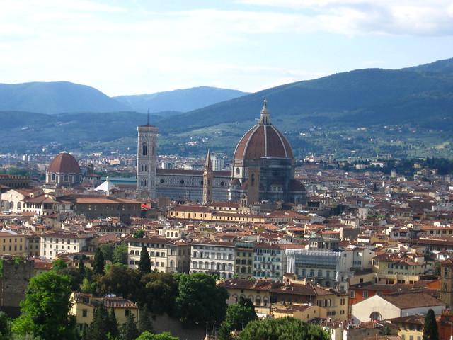 フィレンツェの大聖堂のフリー写真素材