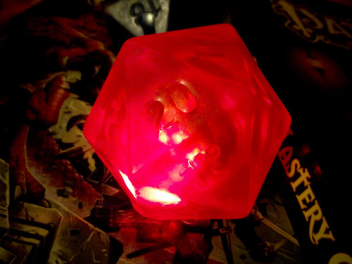 Light-up D20 Soap