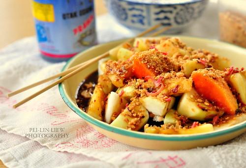 Penang-Style Fruit Salad, a.k.a. Penang Rojak