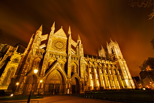 Westminster Abbey HDR, London