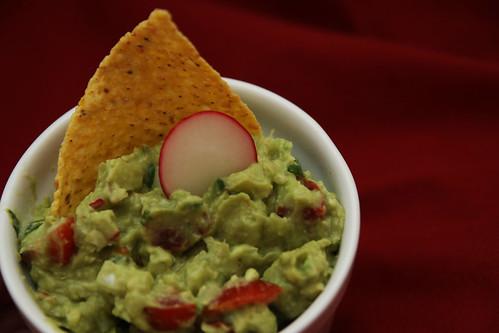 guacamole serving