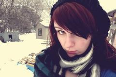 stephanie 02 vintage (Why So Stephanie) Tags: winter cold cute girl vintage nikon dixon stephanie levels p80