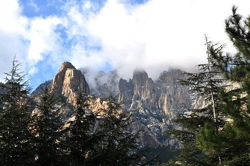 Piste forestière du San Petru : Punta Rossa et Punta Pulischellu
