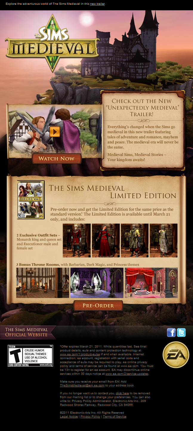 Newsletter do the sims medieval 5426401929_a9cb4b86bd_o