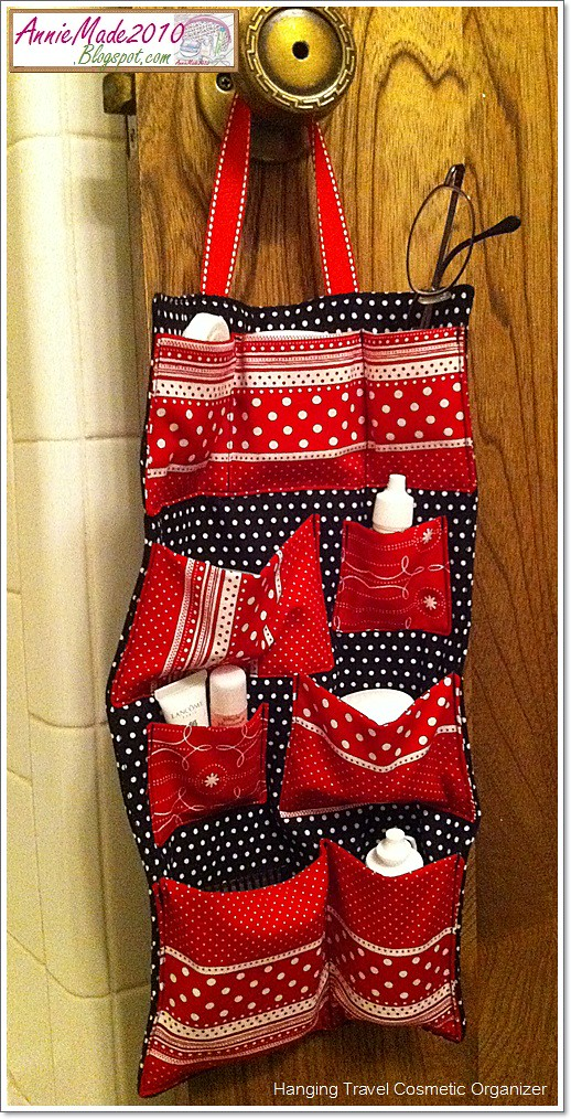 Tote Bag Full Apron My Makeup Roll and Hanging Travel Organizer