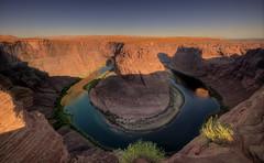 Horseshoe Morning (Wolfgang Staudt) Tags: arizona mountains utah colorado coloradoriver glencanyon mander glencanyonnationalrecreationarea horseshoebend coloradoplateaupage