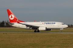 TC-JKN Boeing 737-752 Turkish Airlines (eigjb) Tags: ireland dublin cn plane airplane star airport aircraft aviation istanbul boeing airlines dub turkish spotting alliance aeromexico b737 besiktas collinstown eidw 737752 080211 eidnb xalun 34299 tk1977 tcjkn
