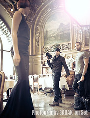 Behind the Scenes photo shoot (BABAK photography) Tags: paris france beauty magazine hair model photoshoot location makeover babak awards naha behindthescenes reddress goldwell hairfashion fashionphotographer wwwbabakca modernsalon hairphotographer babaked behindthescenesbabak behindthescenesfashionshoot dimitriostsioumas photogrsapher babakatwork