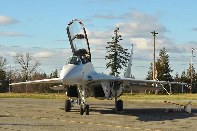 Historic Flight Foundation Mikoyan Gurevich MiG-29UB N29UB