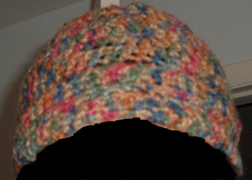 Hat front view.