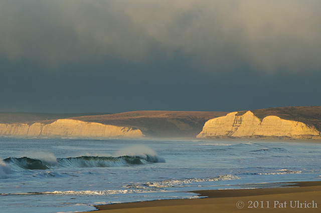 Sunrise on Limantour Beach, Point Reyes National Seashore