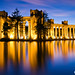 Palace+of+Fine+Art+twilight+water+reflection+long+exposure+study