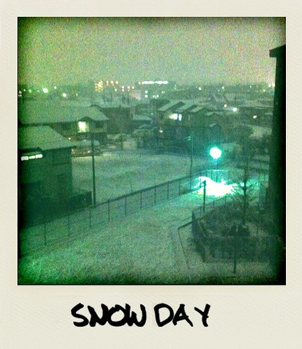 snow day #iphoneography #Polarize