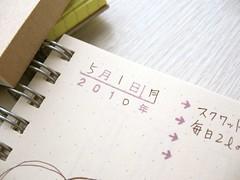 102730 日別ダイアリーキット (OSANPO Shopping) Tags: stamp note 無印良品 ノート スケジュール スタンプ