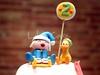 Fondant Cake Pocoyo Esquiant 03 (Lola's Cake) Tags: cake pastel infantil cumpleaños tarta fondant esquiador lolascake pocoyo