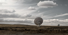New Mexico Landscape (J Quantz Jr.) Tags: newmexico telescope radar vla