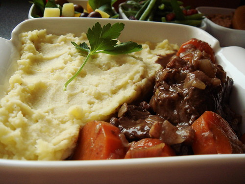 In-Flight Meal Fantasy: Beef Daube With Carrots