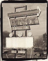 The Hartford Drive In (The Berlin Turnpike) Tags: