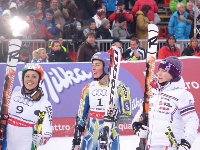 Weltmeisterin: Tina Maze (Slowenien)