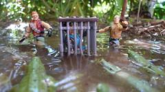 Uh, Its Time For Us To Go (Dudesnbots) Tags: toys cobra action joe figure lamprey gi buzzer crocs monkeywrench dreadnok