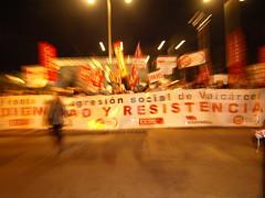 8ª Manifestación Funcionarios Murcia
